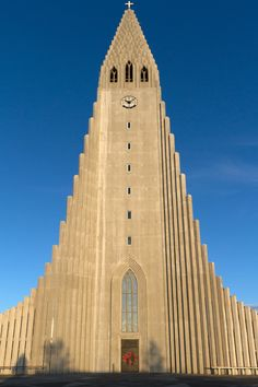 Art Deco building.  Nobody is saying it's a church but on the very top is a cross.