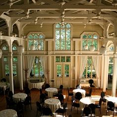 Love the high ceilings, exposed wood and beams Cities In Finland, Big Town, Exposed Wood, Monet, Places To See, Ideal Home, Restaurants, Country, Architecture