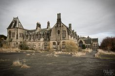 The abandoned Ushaw College, a former Catholic seminary and Licensed Hall of Residence of the University of Durham, covers 400 acres and lies derelict in the village of Ushaw Moor in the UK. It was founded in 1808 by scholars from English College, Douai, who had fled France after that college had been closed during the French Revolution. It has been abandoned since 2011.