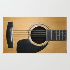 Guitar Area & Throw Rug