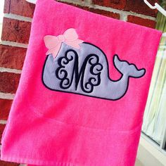 Best Monogrammed Beach Towels Products on Wanelo