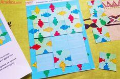 Игры — головоломки для детей своими руками, игры для развития логического и пространственного мышления