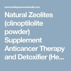Zeolite blood barrier penetrate brain does