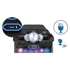 Singing Machine Vibe Hi-Def Karaoke System - Black (SDL366),