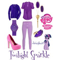 """My Little Pony: Friendship is Magic (Twilight Sparkle)"" by disneyheart on Polyvore"