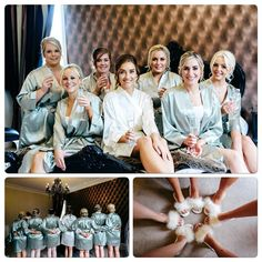 "Abi Salmon on Instagram: ""Loved getting ready with you girls ❤️☺️ #allyouneedissalmon #moxhullhall #weddingphotography #wedding #bridesmaids #weddingslippers…"""