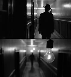 "Amazing cinematography, here by Roger Deakins in ""the man who wasn't there"" (2001), directed by the Coen brothers."