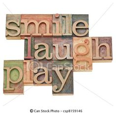 """This or """"smile, laugh, photograph"""" would make a cute quote for a play or craft room."""