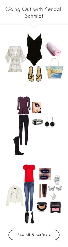 """""""Going Out with Kendall Schmidt"""" by kendallonmymind ❤ liked on Polyvore featuring Speedo, Calypso St. Barth, H&M, Kate Spade, Helmut Lang, SPURR, White House Black Market, MANGO, J Brand and Gap"""