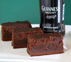 DIY: Guiness Brownies on http://www.drlima.net