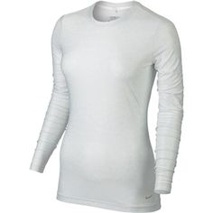 Nike Golf Nike Ladies Crew Baselayer Features: This lightweight uv crew base layer features dri-fit fabric that helps keep you cool and dry. Seasonal all over print makes it a great layering piece or a top to train in. 5.64 oz. 88% Polye http://www.MightGet.com/may-2017-1/nike-golf-nike-ladies-crew-baselayer.asp