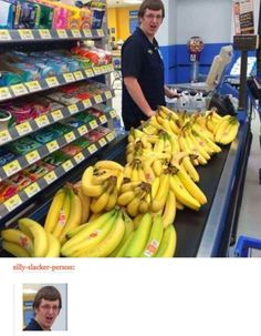 There is such thing as too many bananas...