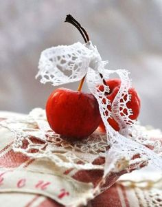 Cherries and Lace, photo by...?