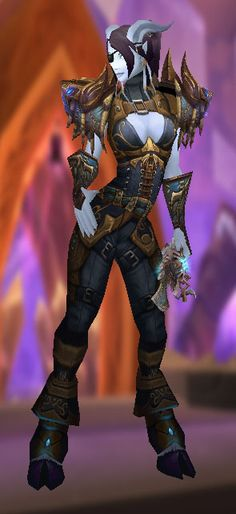 The Corset Effect #Leather #Alliance #transmog