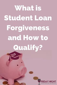 Great roundup of Student Loan Forgiveness programs and qualification requirements