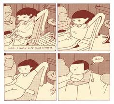 By Celia Marquis [Illustration… Storyboard, Don Meme, Manga, Art Mignon, Ligne Claire, Comic Panels, Funny Comics, Cute Art, Art Inspo