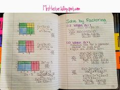 Mrs. Hester's Classroom : Quadratic Functions Unit
