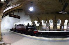 Steam returns underground in London!  ...From...  http://www.dailymail.co.uk/news/article-2249372/Steam-train-returns-London-Underground-time-century-mark-150-years-Tube-opened.html#