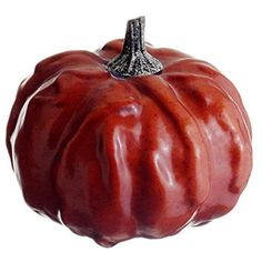 3.5'Hx4'W Artificial Weighted Pumpkin -Sienna (pack of 24) ** Visit the image link more details.