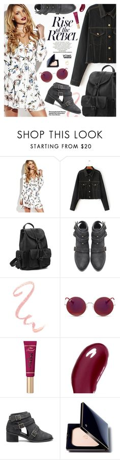 """Show Time: Best Festival Trend-Yoins 4"" by pokadoll ❤ liked on Polyvore featuring Ray-Ban, Too Faced Cosmetics, Chantecaille, Hedi Slimane, Clé de Peau Beauté, yoins, yoinscollection and loveyoins"