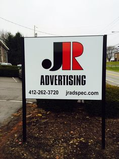 New #aluminum signage for JR Advertising.