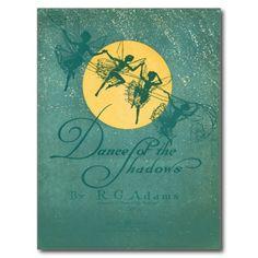 Dance of the Shadows--Fairies Postcard