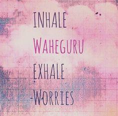 Waheguru ❤️ Sikh Quotes, Gurbani Quotes, Punjabi Quotes, True Quotes, Motivational Quotes, Inspirational Quotes, Kundalini Yoga, Yin Yoga, Chakras