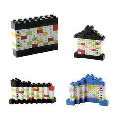DIY Lego Puzzle Calendar  Other Ideas $8.00