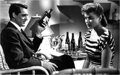 Ingrid Bergman, from the 1946 thriller directed and produced by Alfred Hitchcock, with Cary Grant.