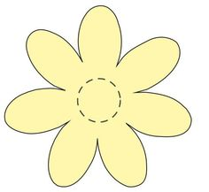 Flower Applique Template   ... daisy appliqués this is one of my beautiful flower applique patterns: