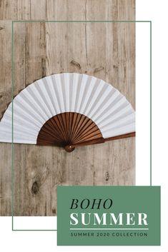 Handfan for summer! Bohemian Soul, Bohemian Living, Lifestyle Store, Lifestyle Blog, Boho Mode, Shops, Bohemian Interior, Mode Inspiration, Boho Outfits