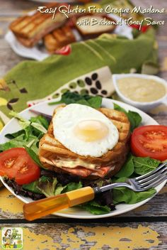 Make an Easy Gluten Free Croque Madame with a Béchamel Honey Sauce ...