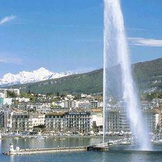 Geneva.  Le jet d'eau.