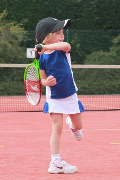 Girls Tennis Skirt and T-Shirt Outfit Side by ZoeAlexanderUK