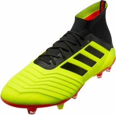 90cb29e1a37 adidas Predator 18.1 FG - Solar Yellow Black Solar Red