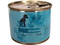 Dogz finefood No. 12 Hundefutter mit Wild