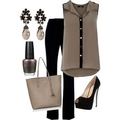 A fashion look from October 2012 featuring Oasis tops, Alexander McQueen pants and Giuseppe Zanotti pumps. Browse and shop related looks.