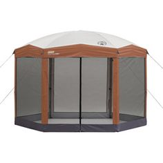 Coleman Back Home Instant Canopy, Hex Shaped, 12' x 10'