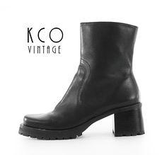 f9dd6c2f482 593 Best Footwear images in 2019   Vintage boots, Black Leather ...