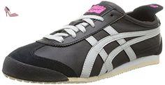 Onistuka Tiger Mexico 66, Chaussures de trail femme - Noir (9011-Black/Light Grey), 44.5 EU (10 UK) - Chaussures onitsuka tiger by asics (*Partner-Link)