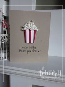 ~ a paper {life}: ~ can't you just smell the butter {quilled popcorn}