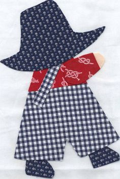 Resultado de imagen para tips for making sunbonnet sue quilt Quilt Baby, Baby Quilt Patterns, Boy Quilts, Girls Quilts, Applique Patterns, Applique Quilts, Applique Designs, Sewing Patterns, Doily Patterns