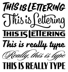 Font Bureau Blog | Lettering is Not Type: Clear Definitions for Commonly Abused Terms