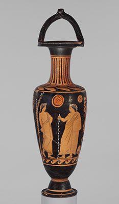 Terracotta bail-amphora (jar)