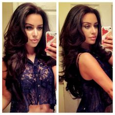 I am in love with her hair! Carli Bybel<3