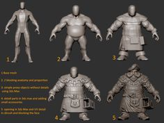 dwarf #3d #sculpting #tutorials