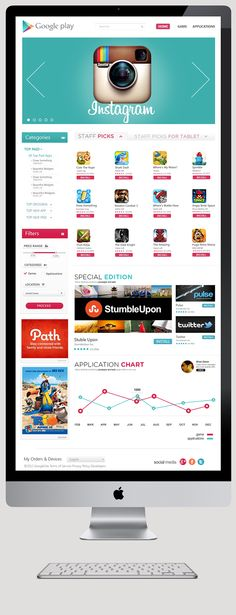 Google Play: Alternative Design on Behance