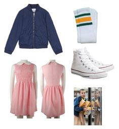 """Eleven!! #StrangerThings"" by marlee05 on Polyvore featuring Max&Co. and Converse"