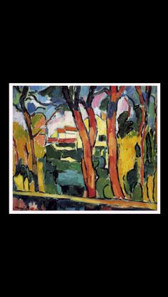 Maurice de Vlaminck - Landscape with red trees, 1906-1907 - Oil on canvas - 65 x 81 cm