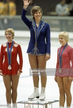 The evolution of women's figure skating costumes.